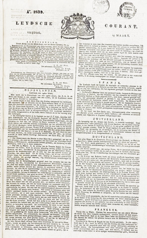 Leydse Courant 1839-03-15