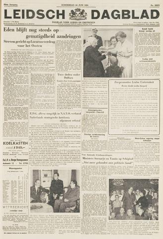 Leidsch Dagblad 1954-06-24