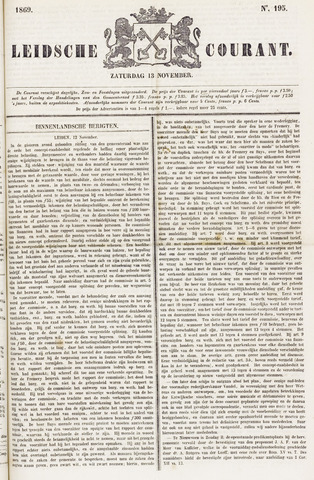 Leydse Courant 1869-11-13