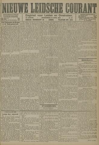 Nieuwe Leidsche Courant 1921-04-14