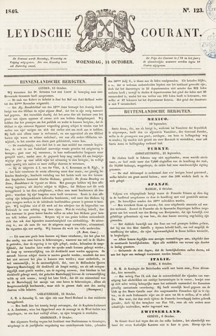 Leydse Courant 1846-10-14