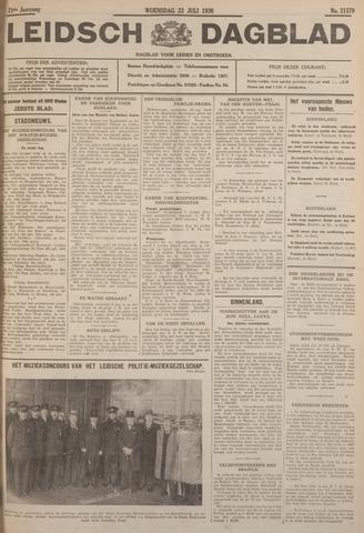 Leidsch Dagblad 1930-07-23