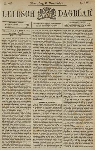 Leidsch Dagblad 1882-11-06