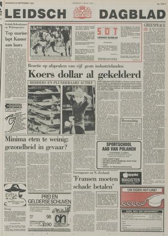 Leidsch Dagblad 1985-09-23