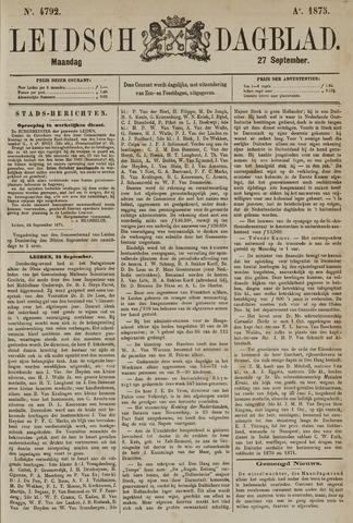Leidsch Dagblad 1875-09-27