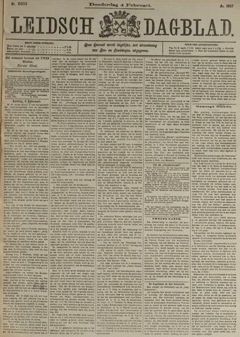 Leidsch Dagblad 1897-02-04