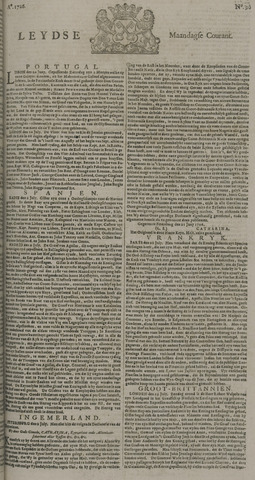 Leydse Courant 1726-07-29