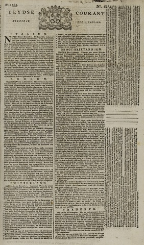 Leydse Courant 1795-01-14