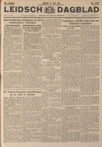 Leidsch Dagblad 1942-07-31