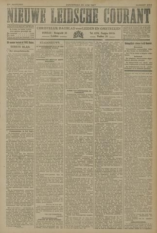 Nieuwe Leidsche Courant 1927-06-30