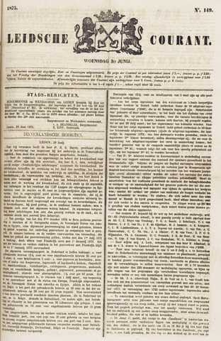 Leydse Courant 1875-06-30