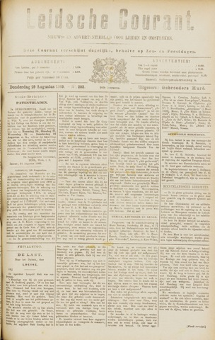 Leydse Courant 1889-08-29