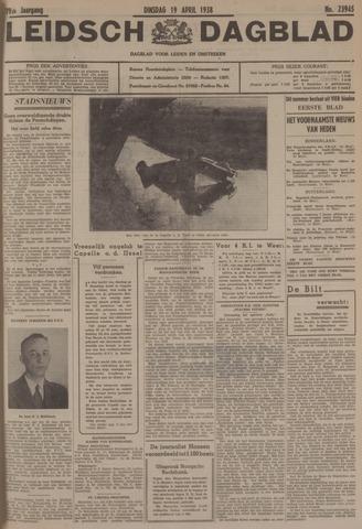 Leidsch Dagblad 1938-04-19