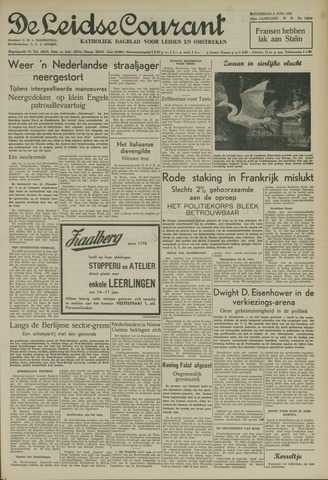 Leidse Courant 1952-06-05