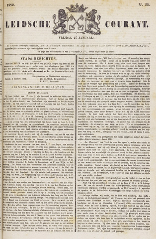 Leydse Courant 1882-01-27