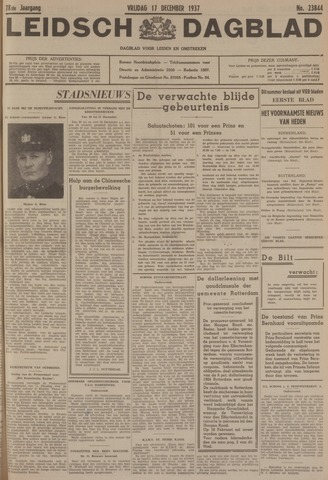 Leidsch Dagblad 1937-12-17