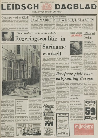 Leidsch Dagblad 1975-07-31