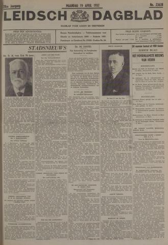 Leidsch Dagblad 1937-04-19