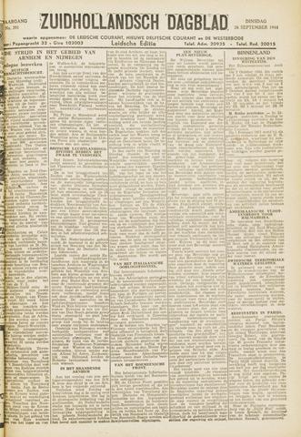 Zuidhollandsch Dagblad 1944-09-26