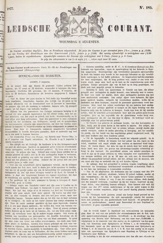 Leydse Courant 1877-08-08