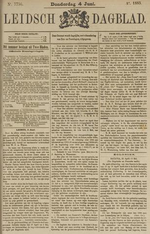 Leidsch Dagblad 1885-06-04