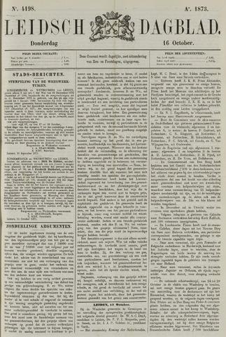 Leidsch Dagblad 1873-10-16