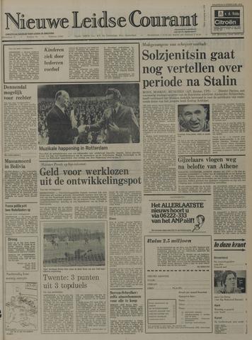 Nieuwe Leidsche Courant 1974-02-04
