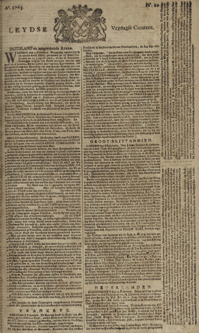 Leydse Courant 1765-02-15