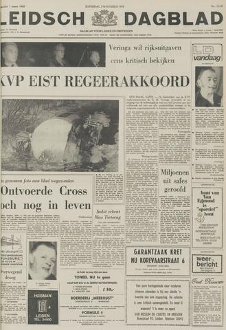 Leidsch Dagblad 1970-11-07