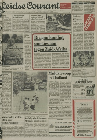 Leidse Courant 1985-09-09