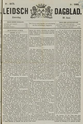Leidsch Dagblad 1869-06-26