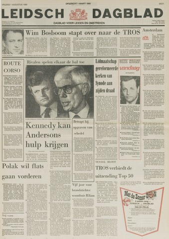 Leidsch Dagblad 1980-08-01