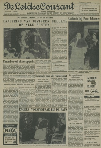 Leidse Courant 1961-05-06