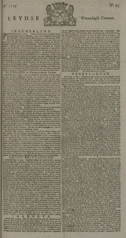 Leydse Courant 1739-06-24