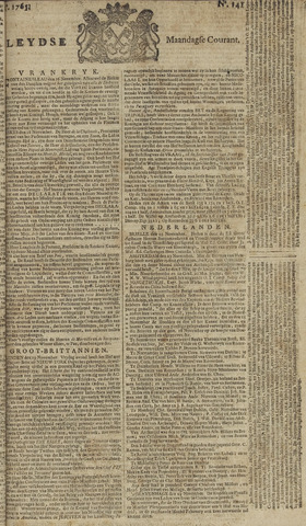 Leydse Courant 1765-11-25