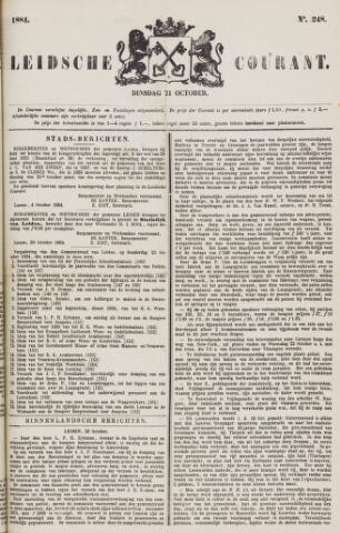 Leydse Courant 1884-10-21