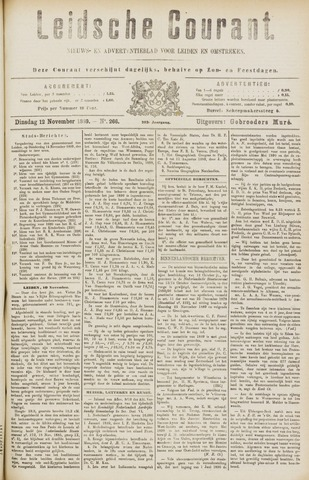 Leydse Courant 1889-11-12