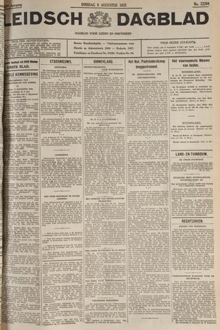 Leidsch Dagblad 1932-08-09