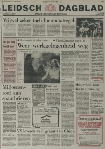 Leidsch Dagblad 1980-10-22