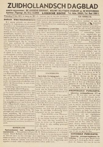 Zuidhollandsch Dagblad 1944-12-13