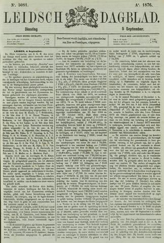Leidsch Dagblad 1876-09-05