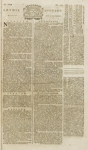 Leydse Courant 1819-12-20
