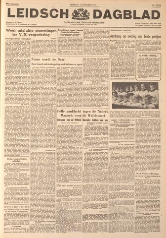 Leidsch Dagblad 1947-10-21