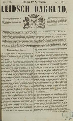 Leidsch Dagblad 1861-11-29