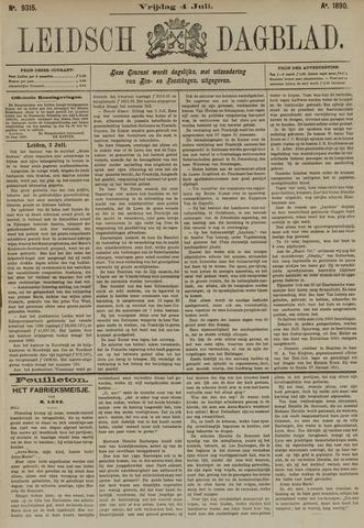 Leidsch Dagblad 1890-07-04