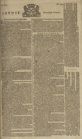 Leydse Courant 1754-11-25