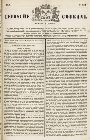 Leydse Courant 1872-10-01