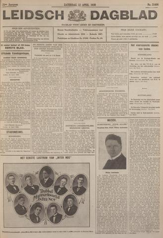 Leidsch Dagblad 1930-04-12
