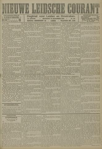Nieuwe Leidsche Courant 1921-11-14