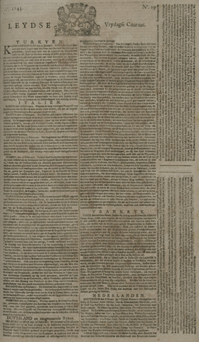 Leydse Courant 1743-03-08